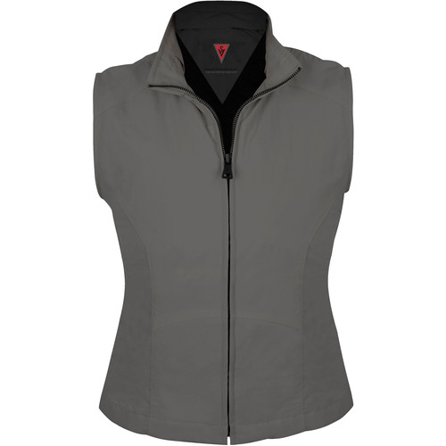 SCOTTeVEST Travel Vest for Women (Small, Gray)