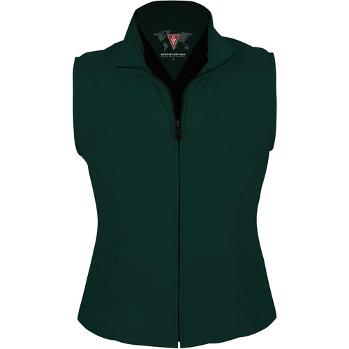 SCOTTeVEST Travel Vest for Women (XL, Hunter Green)