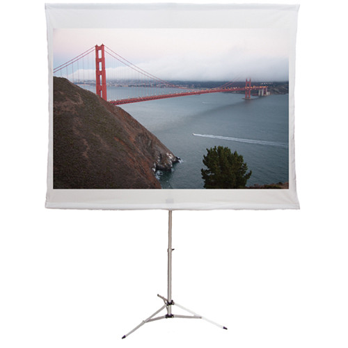 "Screen2Go S2G-007 75"" Portable Front Projection Screen (Matte White)"