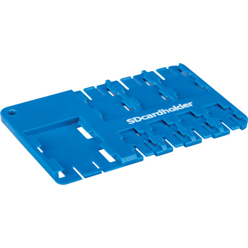 SD Card Holder Multi SIM Cardholder (Blue)
