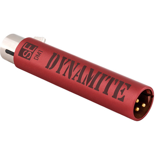 sE Electronics DM1 Dynamite Active Inline Microphone Preamplifier