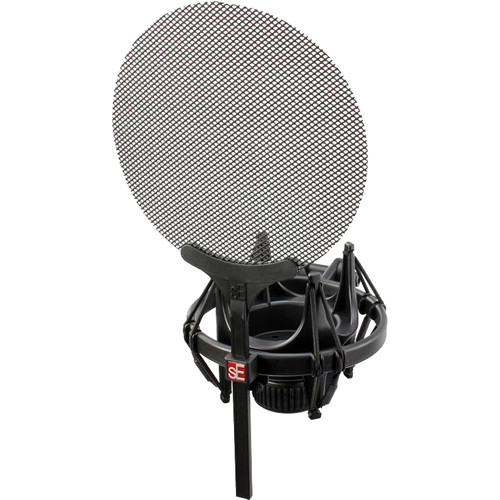 sE Electronics Isolation Pack - Shock Mount and Pop Filter for Magneto, X1 & sE 2200a II Series