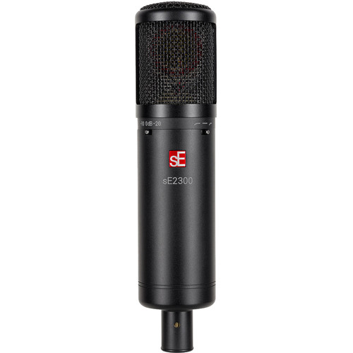 sE Electronics sE2300 Studio Condenser Microphone with Switchable Polar Patterns and Isolation Pack