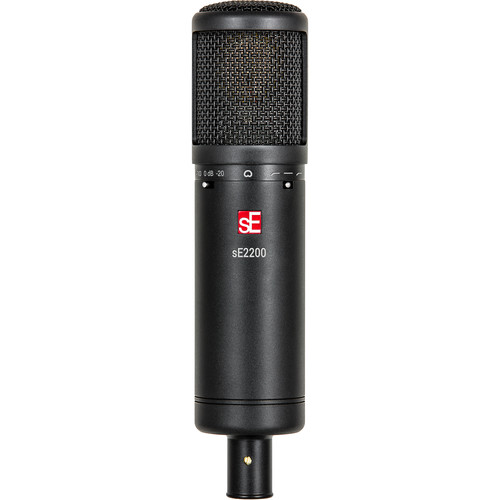 sE Electronics sE2200 Studio Condenser Cardioid Microphone with Isolation Pack