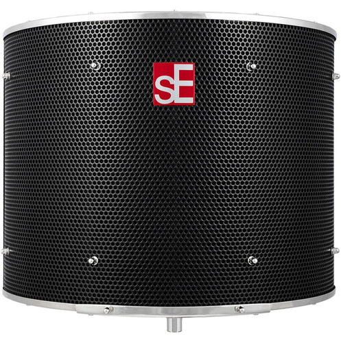 sE Electronics Reflexion Filter PRO - Acoustic Absorber (Black with Chrome Trim)