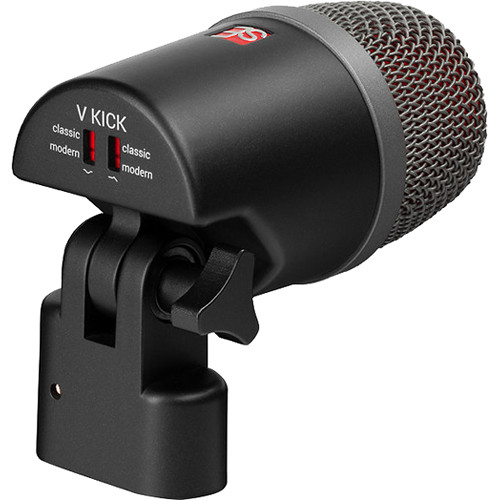 sE Electronics V Kick Dynamic Percussion Instrument Microphone for Drums & Bass