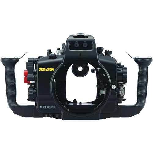 Sea & Sea MDX-D7100 Underwater Housing with Nikon D7100 DSLR Camera Body Kit