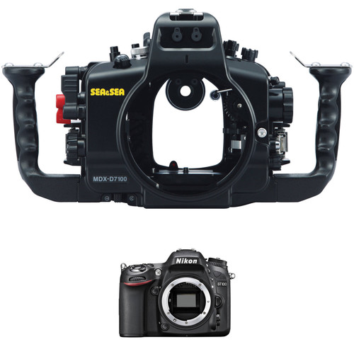 Sea & Sea MDX-D7100 Underwater Housing and Nikon D7100 DSLR Camera Body Kit