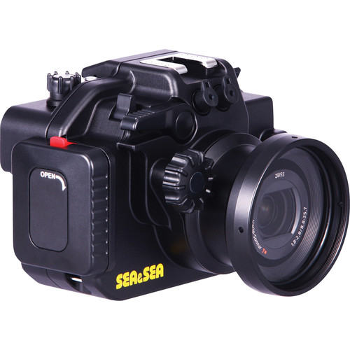 Sea & Sea MDX-RX100III Underwater Housing with Sony Cyber-shot DSC-RX100 III Camera Kit