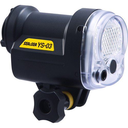 Sea & Sea YS-03 Strobe Head (Black)