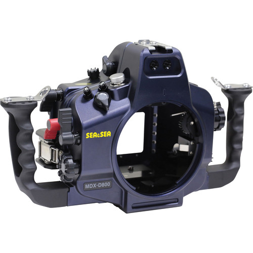 Sea & Sea MDX-D800 Underwater Housing for Nikon D800 or D800E (2-pin Sync Cord Connector)