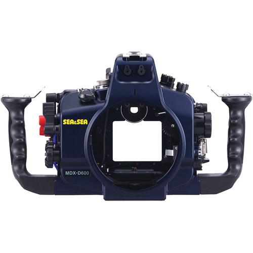 Sea & Sea MDX-600 Underwater Housing for Nikon D600 SLR Camera (Dark Blue)