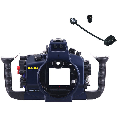 Sea & Sea MDX- D600 Underwater Housing with 2-Pin Sync Cord for Nikon D600