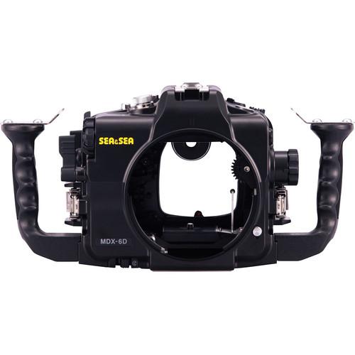 Sea & Sea MDX-6D Underwater Housing for Canon EOS 6D DSLR Camera