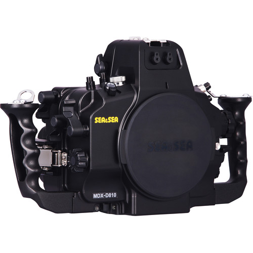 Sea & Sea MDX-D810 Underwater Housing for Nikon D810 with Moisture Alarm