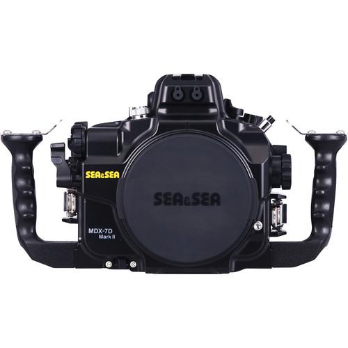Sea & Sea MDX-7D Mark II Underwater Housing for Canon EOS 7D Mark II DSLR Camera