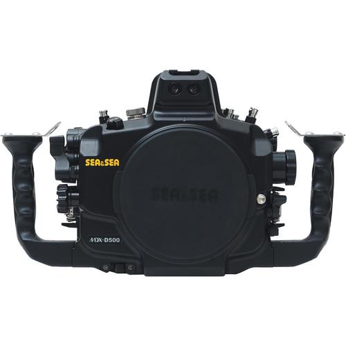 Sea & Sea MDX-D500 Underwater Housing for Nikon D500 (Black)
