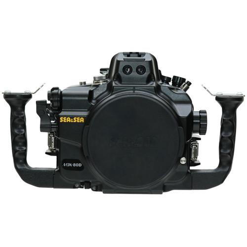 Sea & Sea MDX-80D Underwater Housing for Canon EOS 80D (Black)