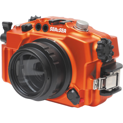 Sea & Sea MDX-a6300 Underwater Housing for Sony Alpha a6500, a6300, or a6000 (Limited Edition Orange)
