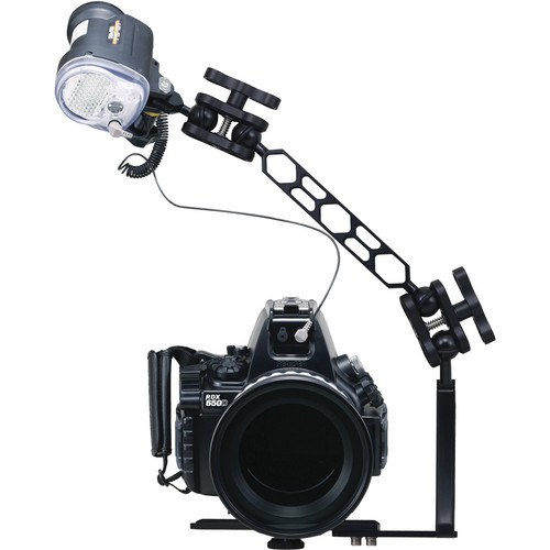 Sea & Sea RDX-650D Underwater Housing & Standard Port with YS-01 Compact Strobe