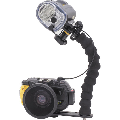 Sea & Sea DX-6G Camera & Housing Set with YS-03 Lighting Package and Wide-Angle Lens