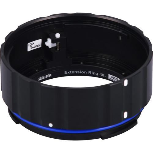 Sea & Sea Extension Ring 40L for Select Lenses in Ports on Underwater Housings
