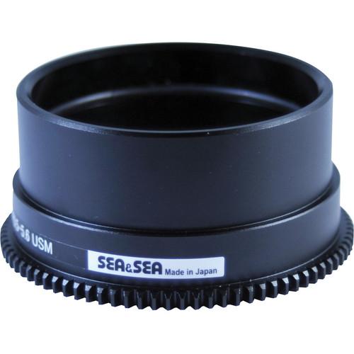 Sea & Sea Zoom Gear for Canon 8-15mm f/4L Fisheye USM Lens in Port on MDX or RDX Housing