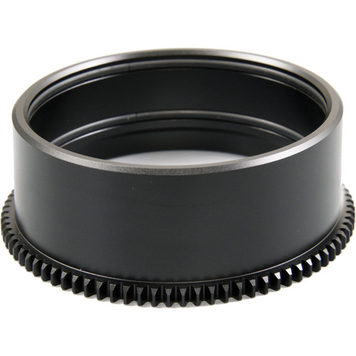 Sea & Sea Zoom Gear for Canon 18-55mm f/3.5-5.6 IS STM Lens in Port on MDX or RDX Housing
