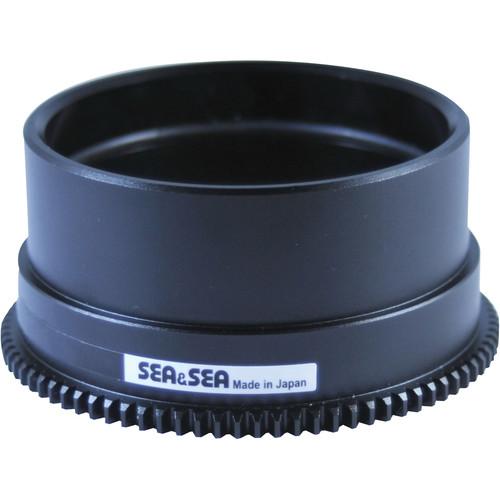 Sea & Sea Zoom Gear for Sony 10-18mm f/4 OSS Lens in Port on MDX Housing