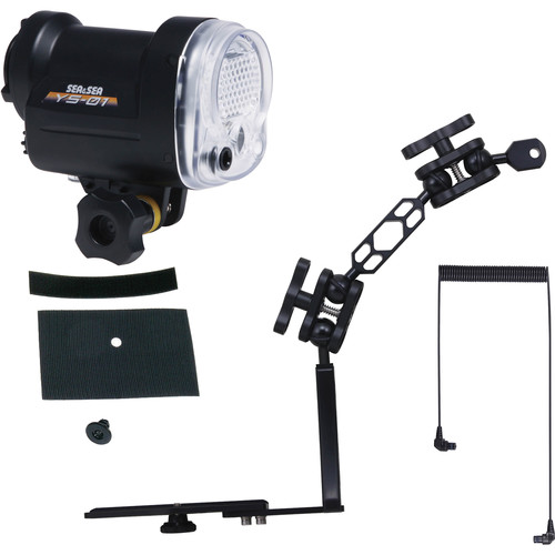 Sea & Sea YS-01 Strobe Lighting Package with Sea Arm 8 and Strobe Mask Set
