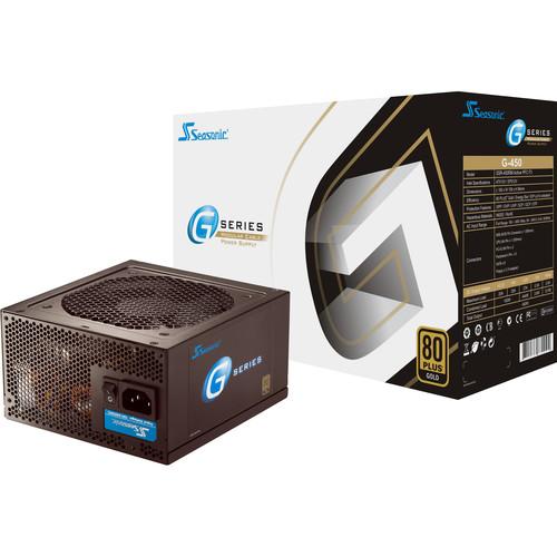 SeaSonic Electronics G-Series 450W 80 Plus Gold Modular Power Supply