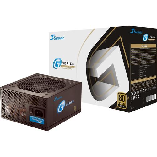 SeaSonic Electronics G-Series 550W 80 Plus Gold Modular Power Supply
