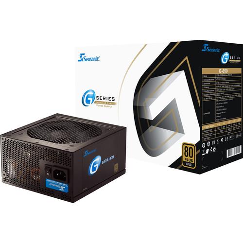 SeaSonic Electronics G-Series 650W 80 Plus Gold Modular Power Supply