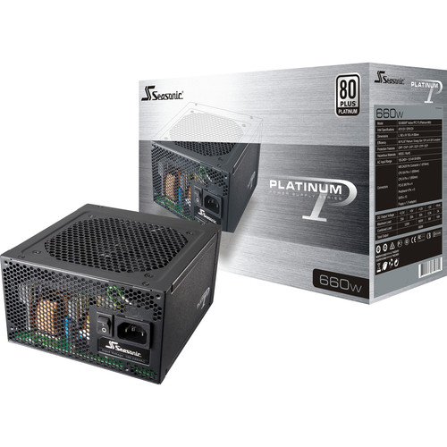 SeaSonic Electronics Platinum Series SS-660XP2 660W 80 Plus Platinum Modular Power Supply