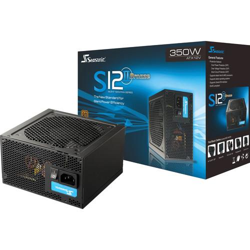 SeaSonic Electronics S12II Series SSR-350ST 350W 80 Plus Bronze Power Supply