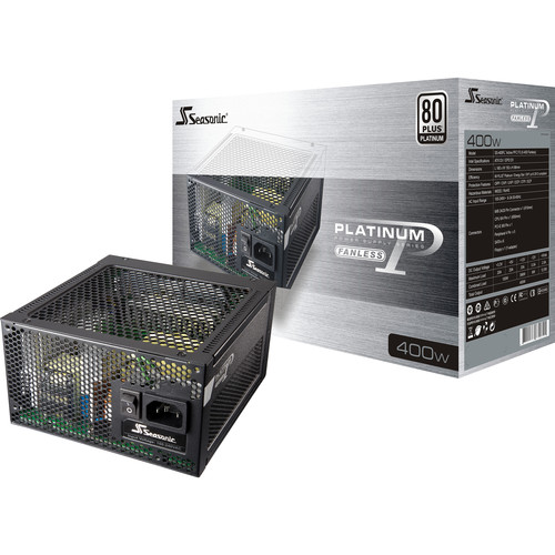SeaSonic Electronics Platinum FL2 Series 400W 80 Plus Platinum Modular Power Supply