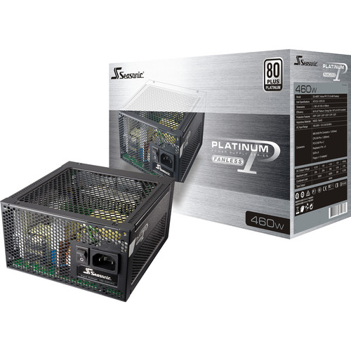 SeaSonic Electronics Platinum FL2 Series 460W 80 Plus Platinum Modular Power Supply