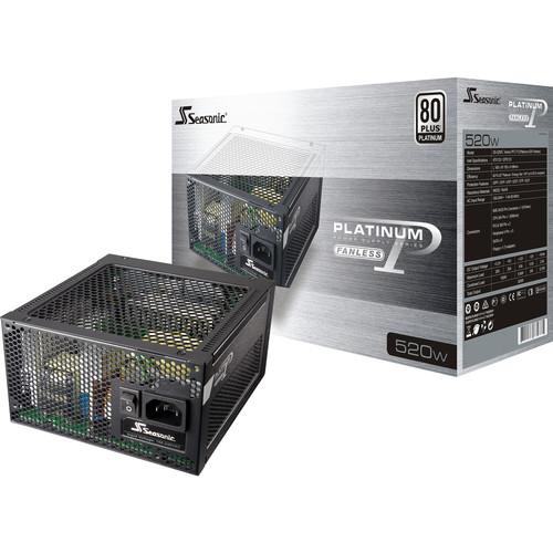 SeaSonic Electronics Platinum FL2 Series 520W 80 Plus Platinum Modular Power Supply