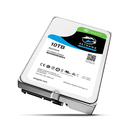 "Seagate 10TB SkyHawk 7200 rpm SATA III 3.5"" Internal Hard Drive"