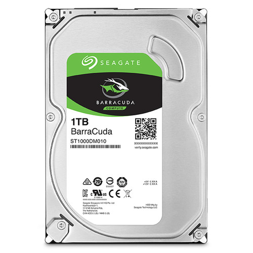 "Seagate 1TB BarraCuda SATA III 3.5"" Internal HDD"