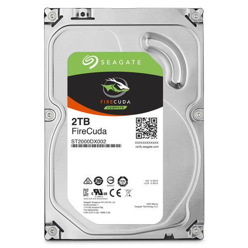 "Seagate 1TB FireCuda 3.5"" Internal Hybrid Drive"