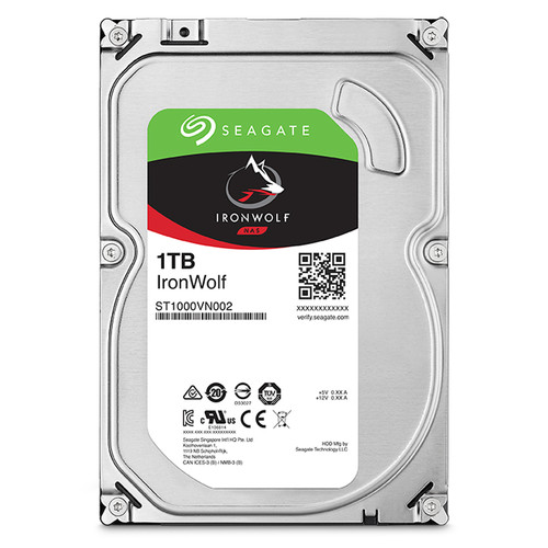 "Seagate 1TB IronWolf 5900 rpm SATA III 3.5"" Internal NAS HDD"