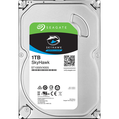 "Seagate 1TB SkyHawk SATA III 3.5"" Internal HDD"