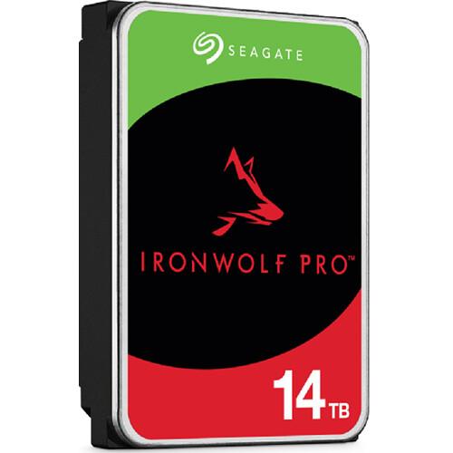 "Seagate 14TB IronWolf Pro 7200 rpm SATA III 3.5"" Internal NAS HDD"