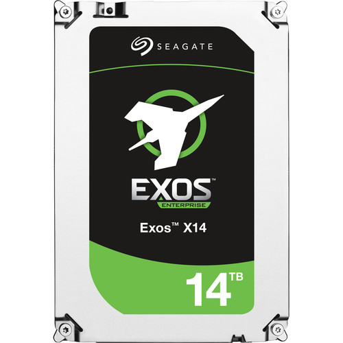 "Seagate Exos 14TB 7200rpm SATA III 3.5"" Internal Hard Drive"