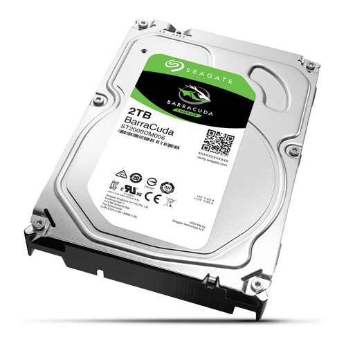 "Seagate 2TB Barracuda SATA III 3.5"" Internal HDD"