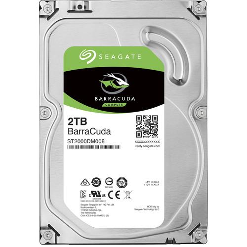 """Seagate 2TB BarraCuda 7200 rpm SATA 3.5"""" Internal HDD"""