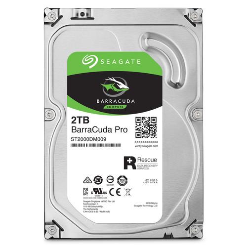 "Seagate 2TB BarraCuda Pro 7200 rpm SATA III 3.5"" Internal HDD"