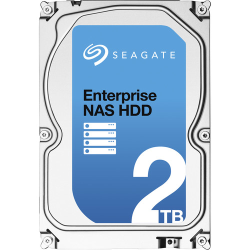 "Seagate ST2000VN0011 3.5"" Enterprise NAS 7200 RPM Internal Hard Drive + Rescue Data Recovery (2TB)"