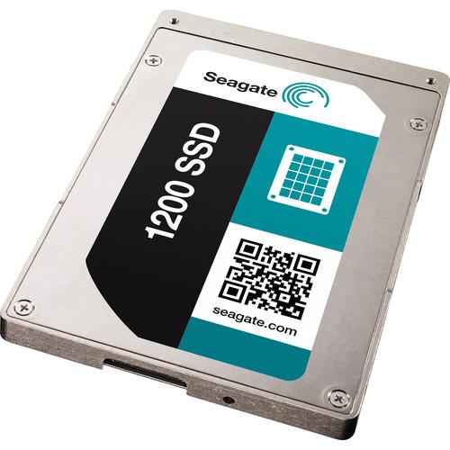 "Seagate 200GB 1200 2.5"" SAS SED Internal SSD (OEM)"